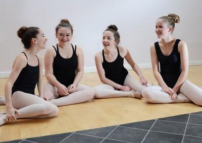 Lesley Dutch Ballet Class